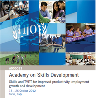 """Academy on Skills Development"" Skills and TVET for improved productivity, employment growth and development"