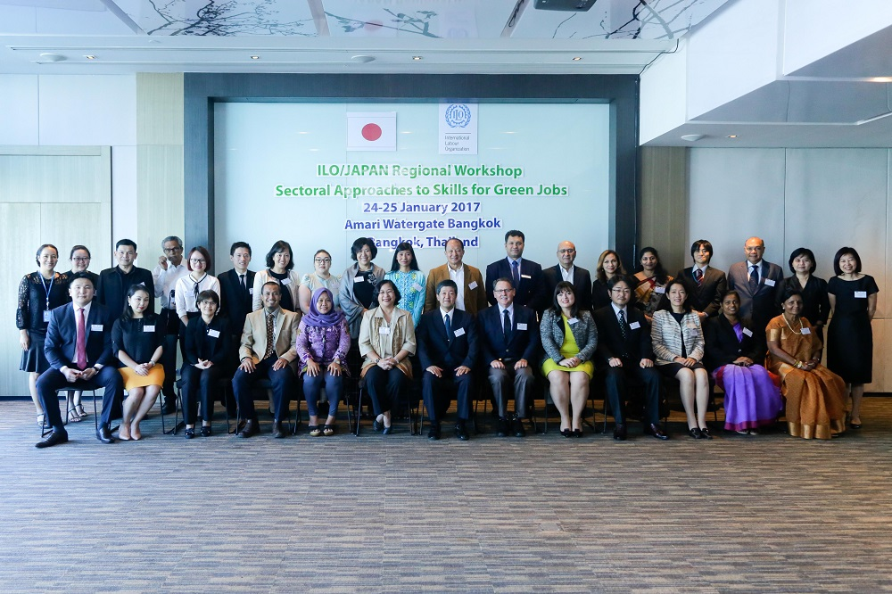 ILO/ Japan Regional Workshop on Sectoral Approaches to Skills for Green Jobs