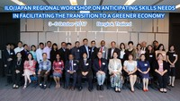 Regional Workshop on Anticipating Skills Needs in Facilitating the Transition to a Greener Economy