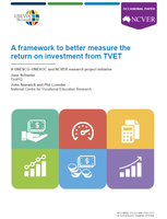 A framework to better measure the  return on investment from TVET