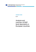 Analysis and overview of NQF level descriptors in European countries