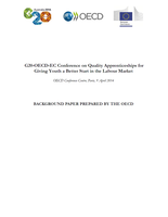 Background Paper: G20-OECD-EC Conference on Quality Apprenticeships for Giving Youth a Better Start in the Labour Market