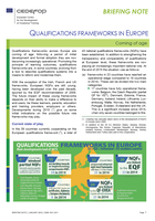 Briefing note - Qualifications frameworks in Europe