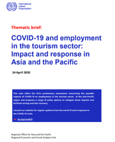 COVID-19 and employment in the tourism sector: Impact and response in Asia and the Pacific