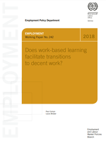 Does work-based learning facilitate transitions to decent work?