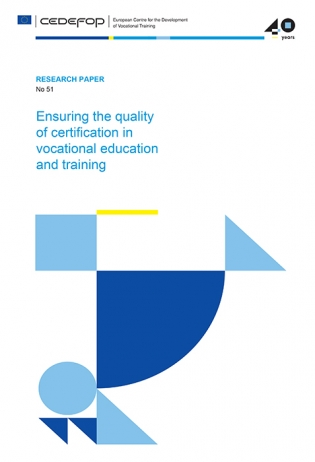 Ensuring the quality of certification in vocational education and training
