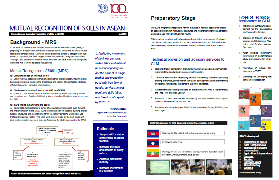 Factsheet on ILO led MRS Programme
