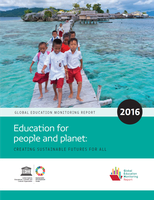 Global Education Monitoring Report. Education for people and planet: Creating sustainable futures for all