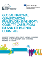 Global national qualifications framework inventory: country cases from EU and ETF partner countries