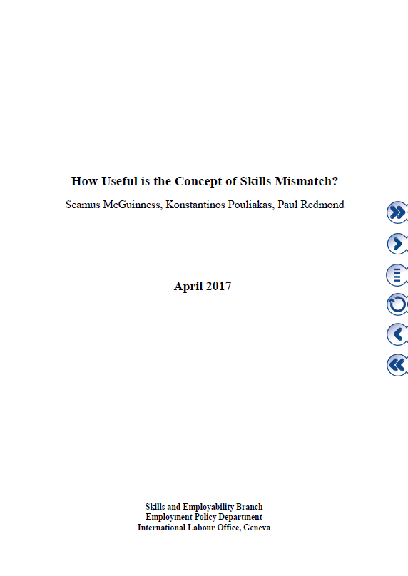 How Useful is the Concept of Skills Mismatch?