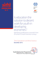 Is education the solution to decent work for youth in developing economies?