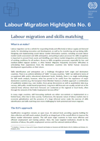 Labour migration and skills matching - Labour Migration Highlights No. 6