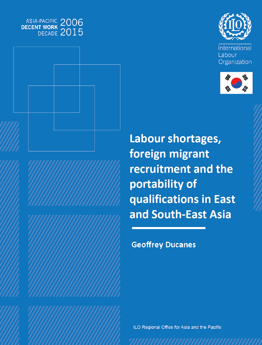 Labour shortages, foreign migrant recruitment and the portability of qualifications in East and South-East Asia
