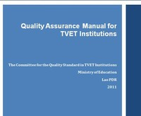 Quality Assurance Manual for TVET Institutions