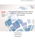 Occupational Competence Needs Analysis as Basis for TVET Teacher Curriculum Development