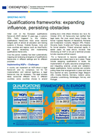 Qualifications frameworks: expanding influence, persisting obstacles