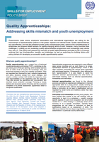Quality Apprenticeships: Addressing skills mismatch and youth unemployment