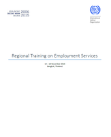 Regional Training on Employment Services: meeting report