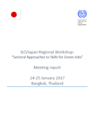 Sectoral Approaches on Skills for Green Jobs: meeting report of the regional workshop