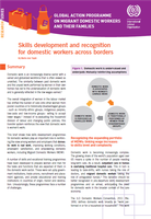 Skills development and recognition for domestic workers across borders