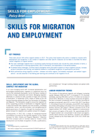 Skills for Employment Policy brief – Skills for Migration and Employment