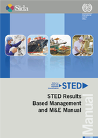 STED results based management and M&E manual