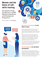 Women and the future of soft skills training: Project flyer